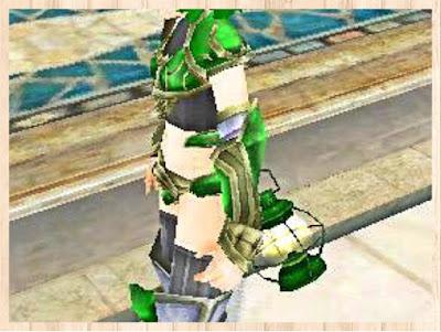 魔法のランタン 緑1
