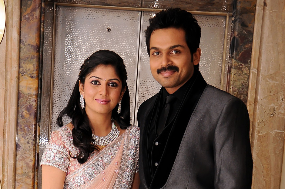 Karthi And Ranjani Reception Stills