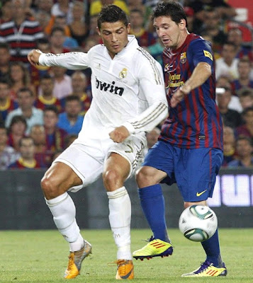 Cristiano vs Messi. Spanish Super Cup 2011