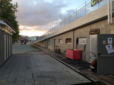 now a hub for local non profits in Malmo, including cykelkoket, the cycle kitchen