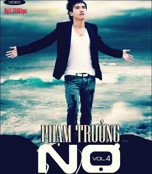 """Bìa CD ALbum """"Nợ - Phạm Trưởng (2012)"""""""