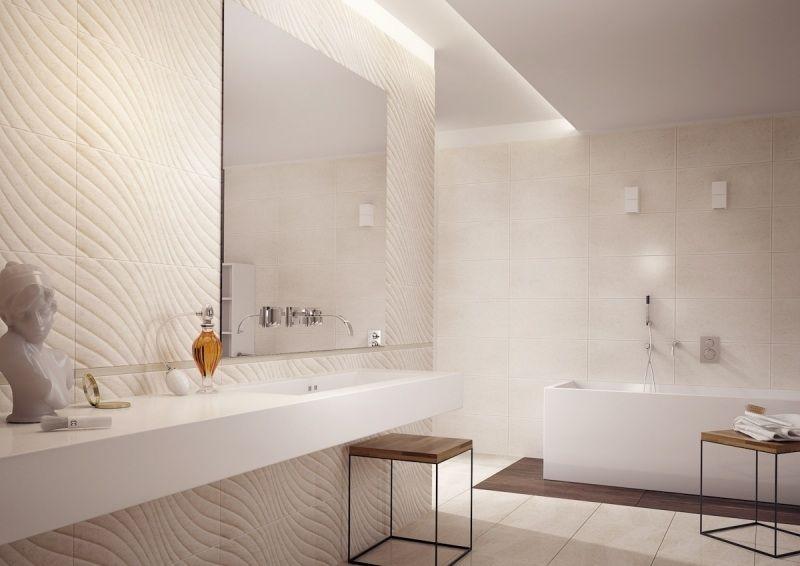 Ba o color beige colores en casa for Colores de marmol para banos