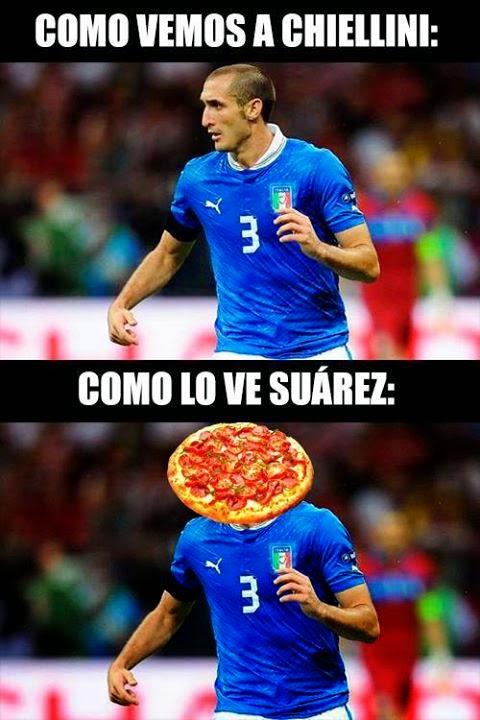 Suarez Muerde a Chiellini, Memes