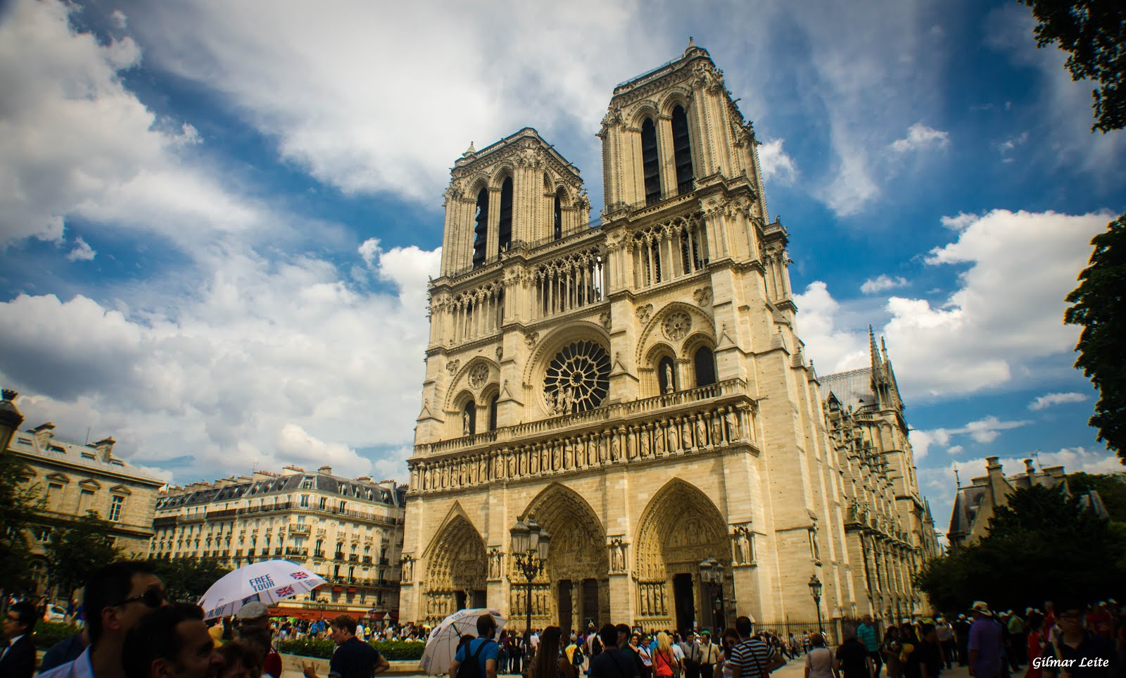 CATEDRAL DE NOTRE DAME - PARIS