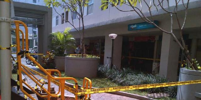 pelaku jatuh tewas di kalibata city apartemen