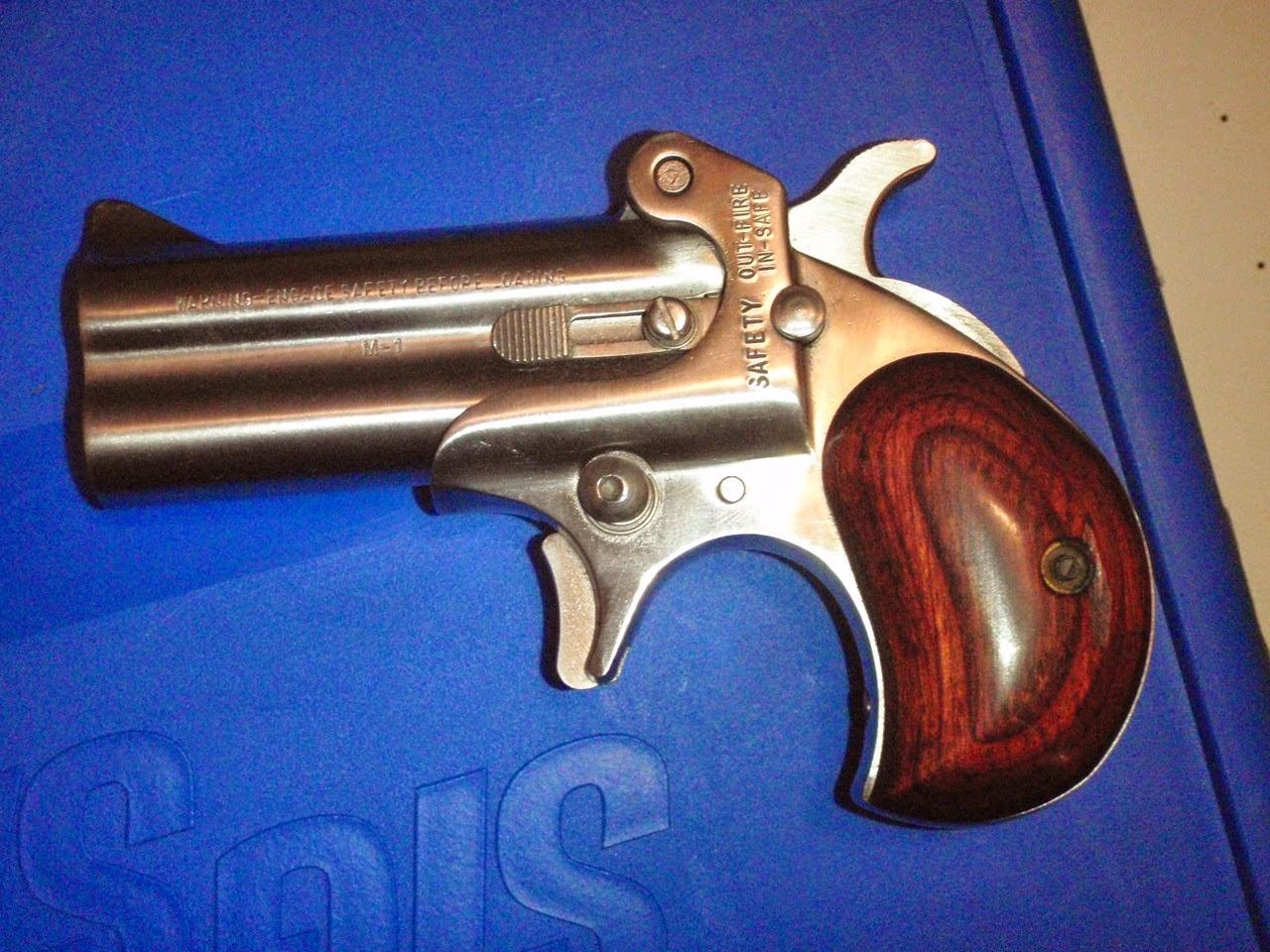 on target shooter nz: American Derringer Corp: 10MM Derringer.