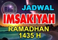 Jadwal Imsakiyah Ramadhan 2014