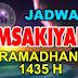 Jadwal Imsakiyah Ramadhan 2014 (1435 Hijriah)