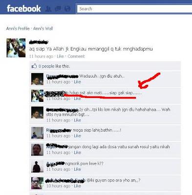 Seram..!! Sudah Meninggal Masih Bisa Update Status Facebook [ www.BlogApaAja.com ]