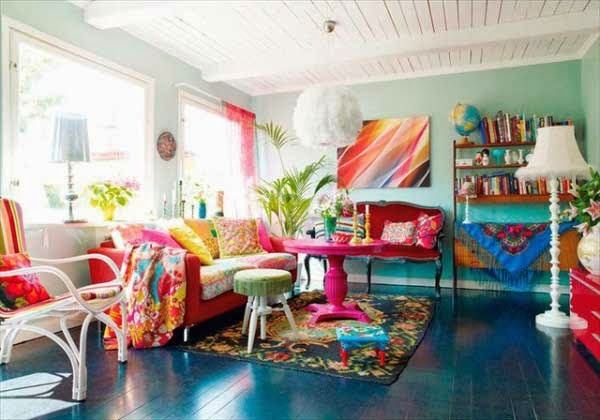 Apply Eclectic Style At Home Interior