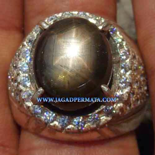 Batu Permata Black Safir Star Best Collection