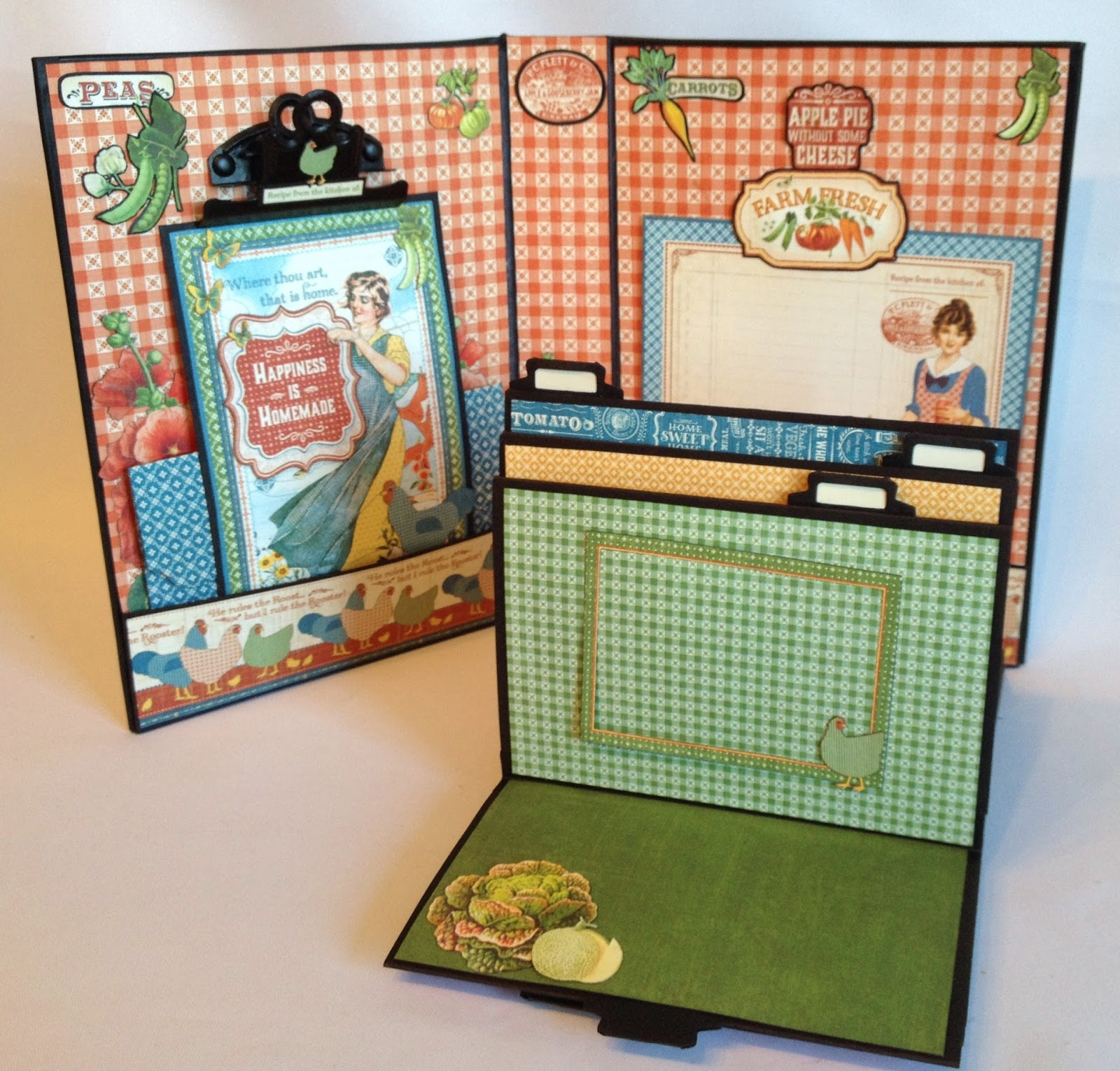 How to make scrapbook vintage - All The Pages Can Be Folded In Different Directions Depends On How You Like Them Displayed