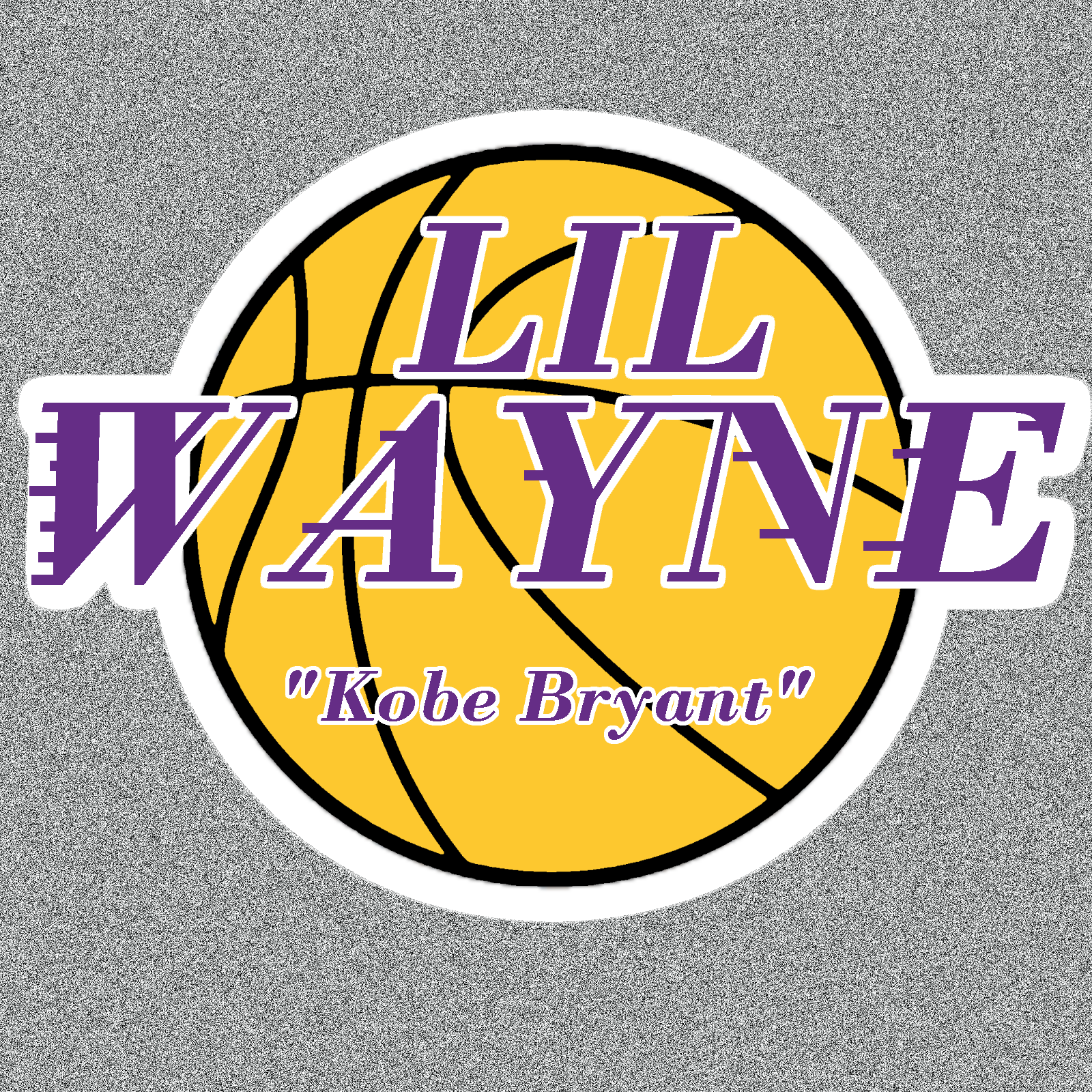 lil waynekobe bryantcustom album cover general design