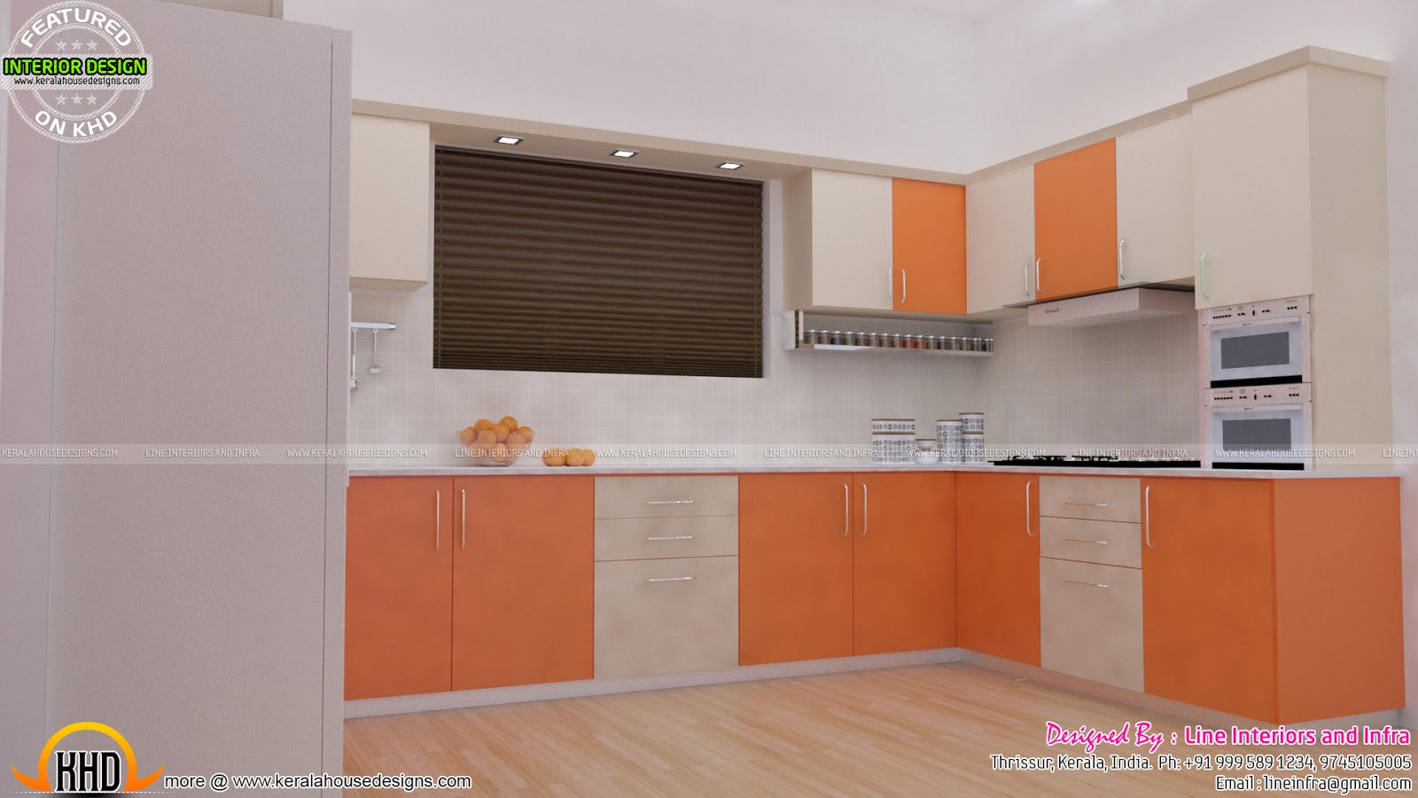 Bedroom And Kitchen Interior Decor Kerala Home Design: bedroom with kitchen design