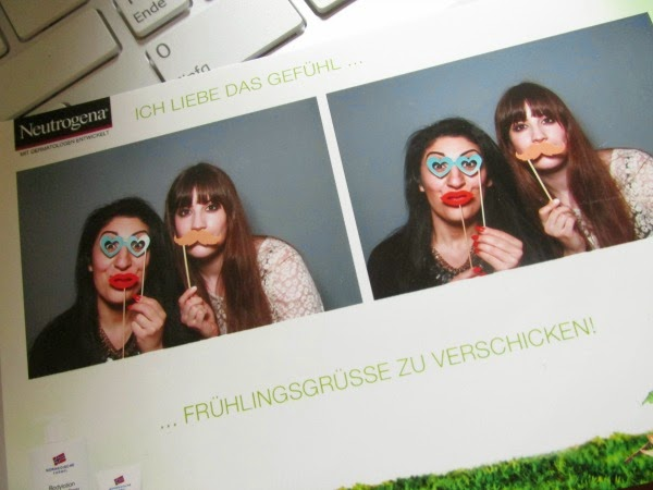 Neutrogena Photo Booth Beautypress Blogger Event Mai 2014