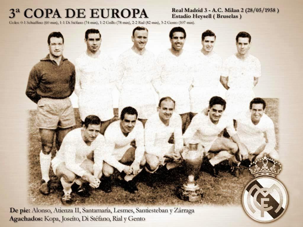 Tercera Copa de Europa del Real Madrid - 1957-1958