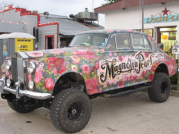 Magnolia Pearl 4x4 Rolls Royce Art Car Central