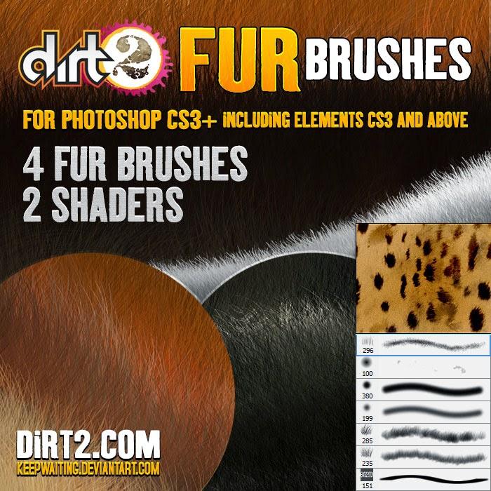 Fur Brushes Photoshop