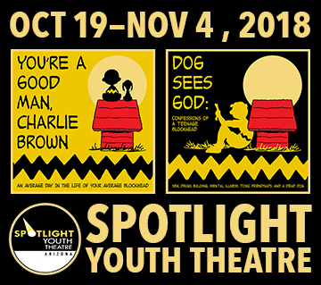 THIS MONTH'S MAIN SITE SPONSOR: Spotlight Youth Theatre presents...