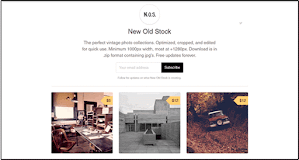 New Old Stock offers vintage images