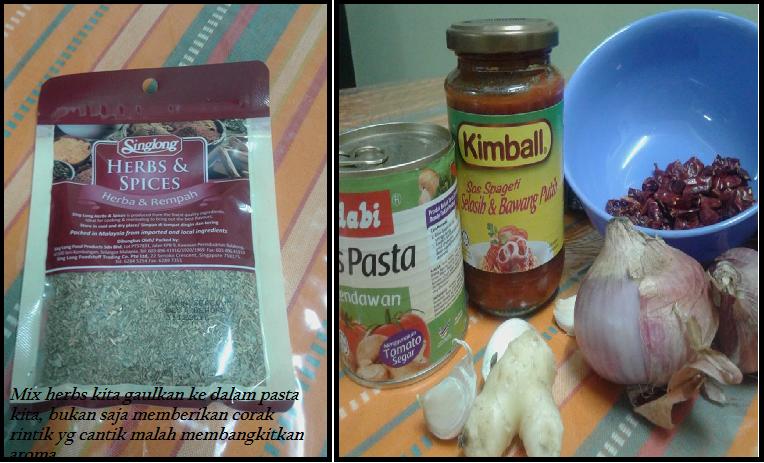 resepi home made, home made spaghetti, cara memasak spaghetti, sos pasta adabi, sos spaghetti adabi, sos mushroom