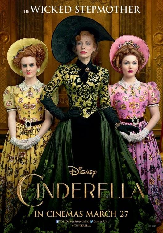 Cinderella Wicked Stepmother movie poster