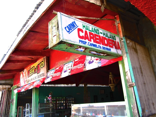 Halang-halang Carinderia, bislig restaurant, where to eat in Bislig, budget food bislig, budget meals bislig, bislig means