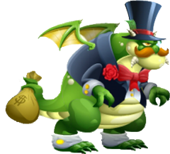 Dragon Rockfeller | Amigos Para Dragon City