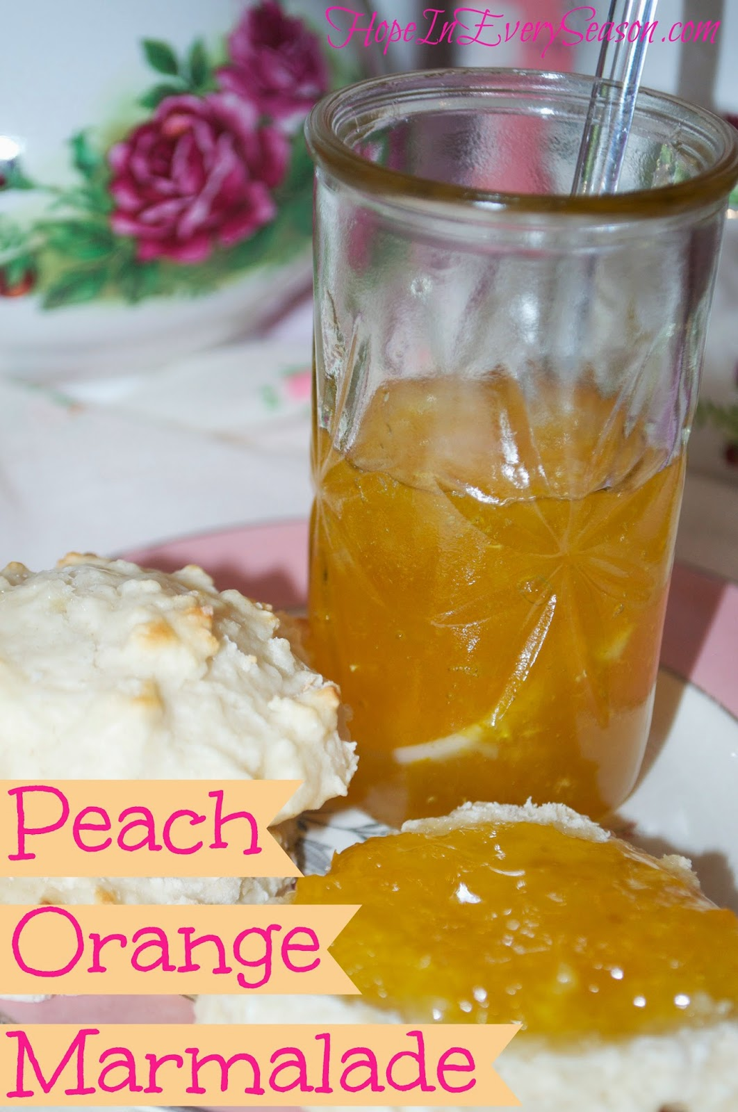 Classical homemaking peach orange marmalade no pectin for Peach preserves no pectin