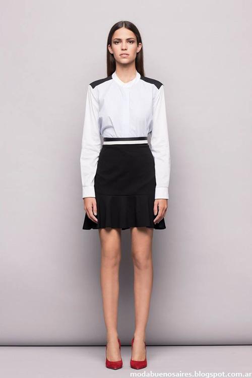 Awada otoño invierno 2014 faldas de moda.