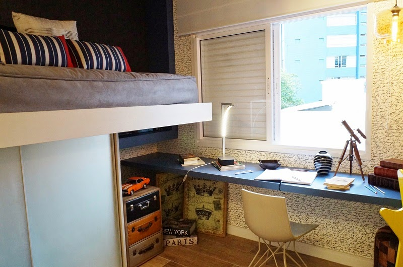 escrivaninha junto a janela - Casa Cor Litoral 2014