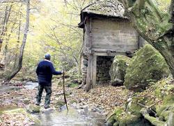 casa de Zarožje en serbia