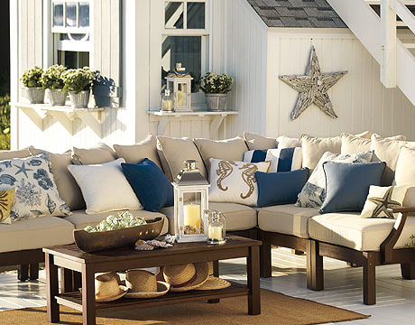 driftwood star in Pottery Barn catalog