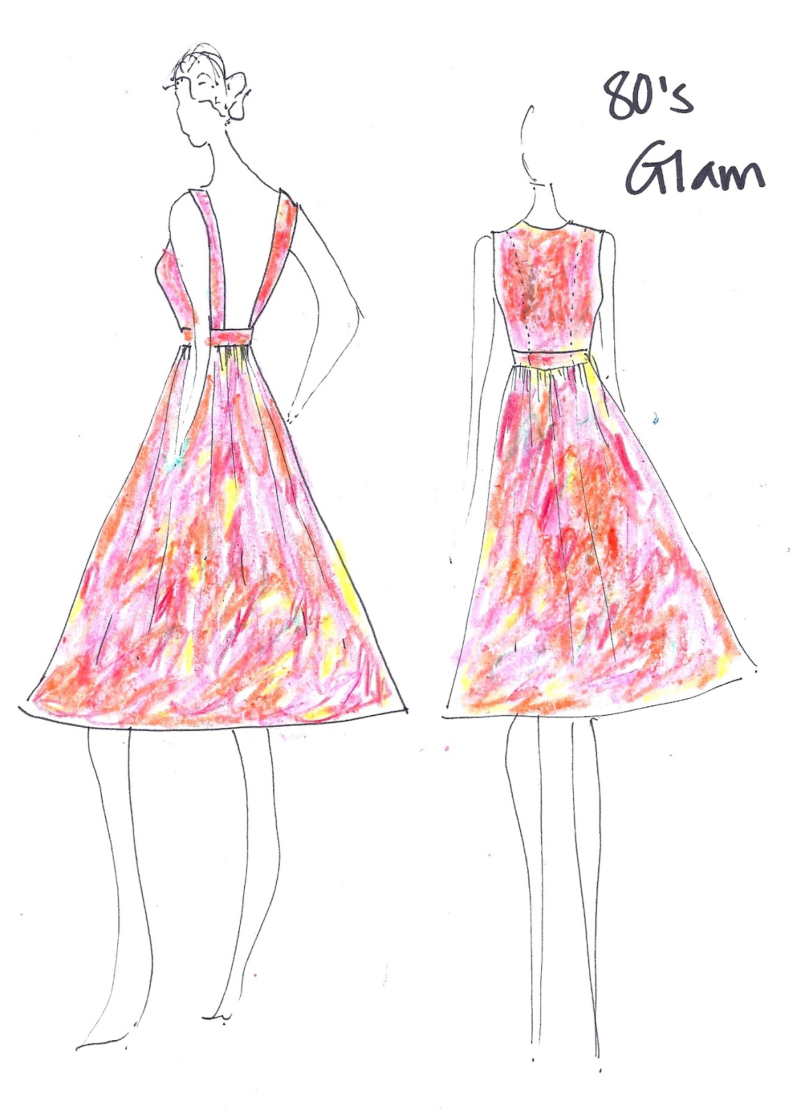 Petite patterns backless dress design pattern drafting