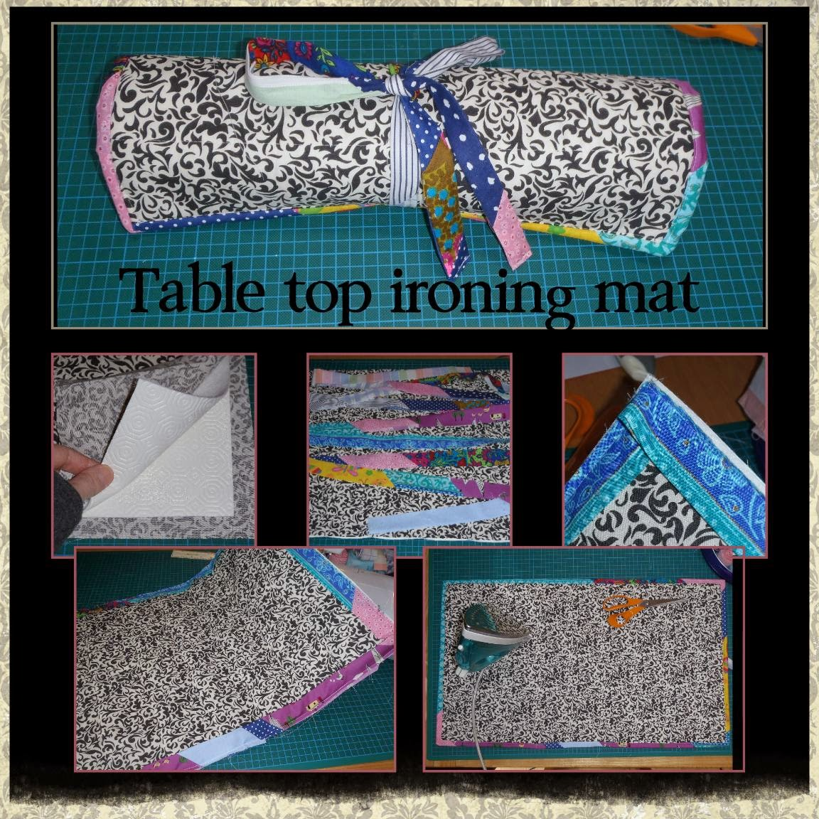 how to make a homemade ironing board