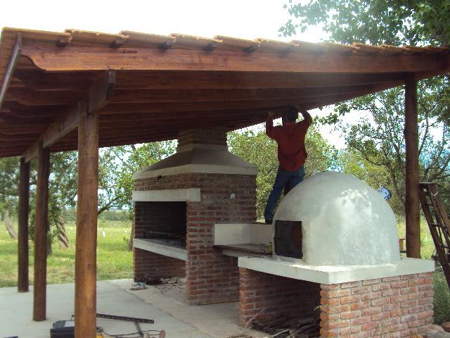 La madera y sus creaciones techo para regalar o regalarse fina terminacion - Techos rusticos ...