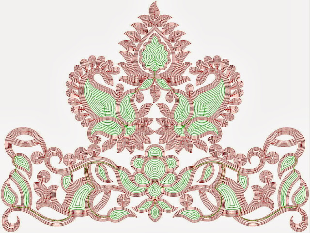 Embdesigntube Indian Cording Embroidery Lace Designs