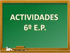 Actividades 6º