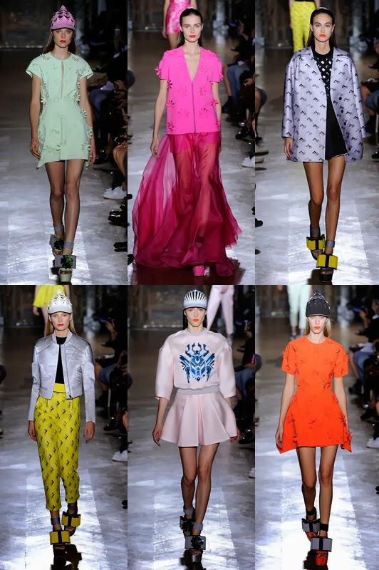 Super Models Paris Fashion Week Spring 2014