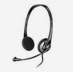 Amazon: Buy Plantronics Audio 326 Stereo PC Headset at Rs.920
