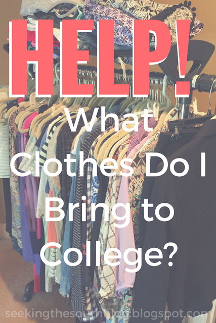 Help! What Clothes Do I Bring to College?
