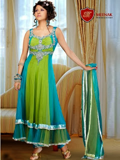 Frock for Mehndi Parties