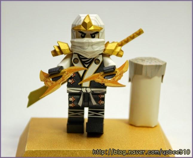 Lego Ninjago Papercraft - Zane