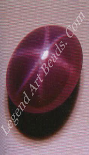 Synthetic star sapphire