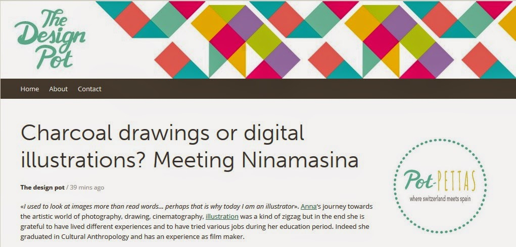 http://thedesignpot.net/2015/02/10/charcoal-drawings-or-digital-illustrations-meeting-ninamasina/