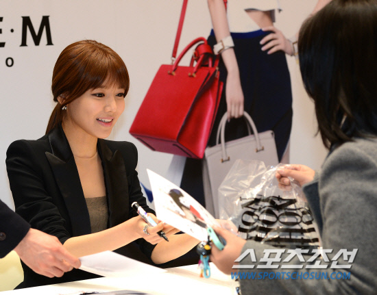 Sooyoung Double M fansigning