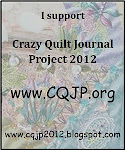 Crazy Quilt Journal Project 2012