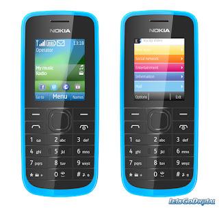 Spesifikasi dan Harga Nokia - 109 Terbaru