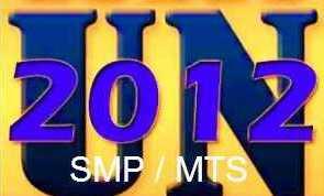 Kunci Jawaban Ujian Nasional SMP MTs 2012