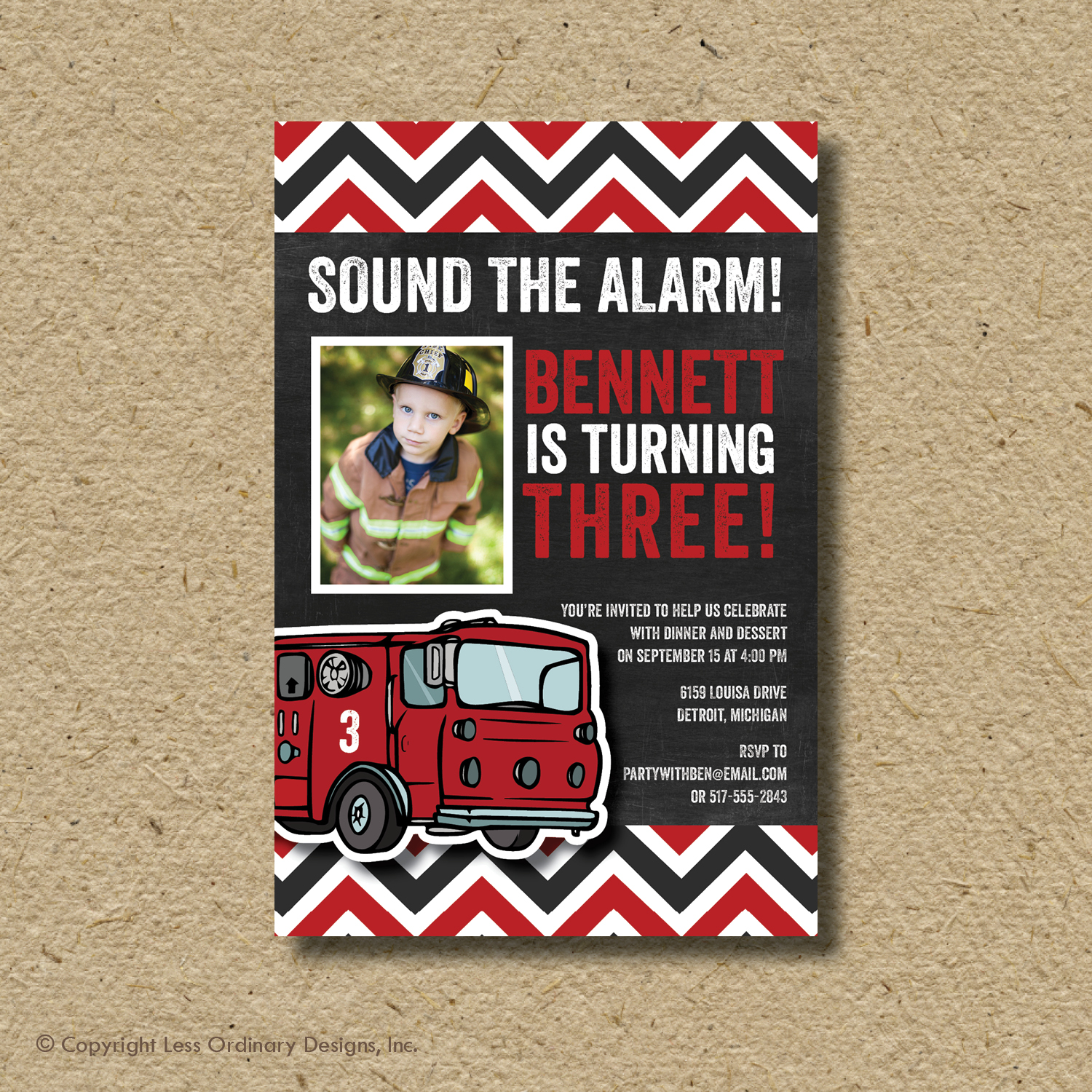 Less Ordinary Designs: Sound The Alarm! Bennett's